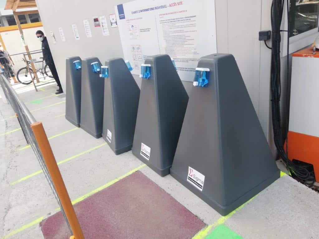 distributeur-gel hydroalcoolique-btp-alsace